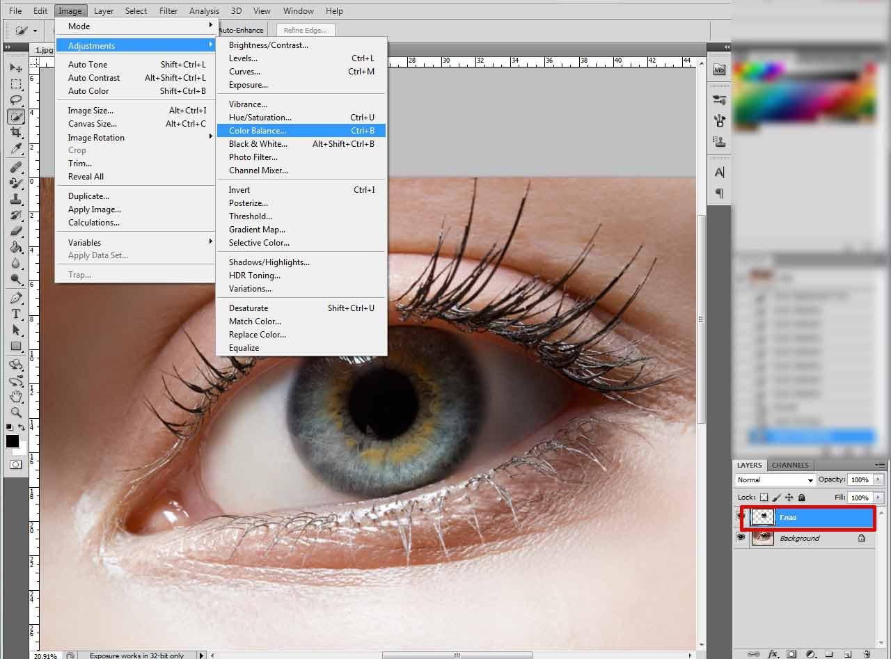 На этой странице собраны материалы по запросу уроки изменения глаз в фотошопе на русском