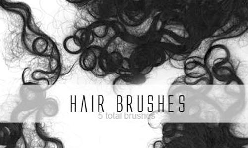 Кисти волос, локонов и причесок для photoshop.