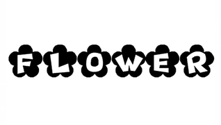 Цветочные шрифты
