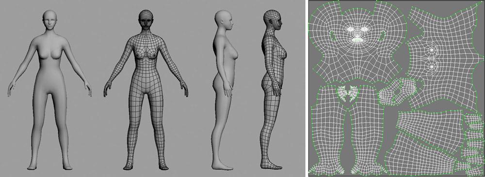 готовые низкополигональные модели: