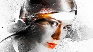 Создание портрета в стиле фристайл при помощи художественных кистей и масок