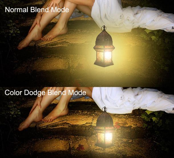 Результат создания реалистичного освещения