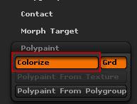 Кнопка Colorize