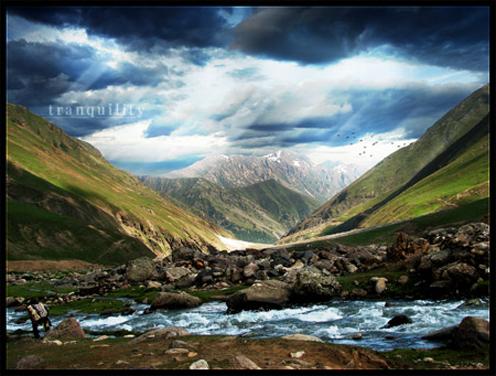 Пост-обработка пейзажной фотографии