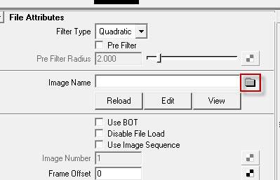 В меню File Attributes выберите созданную карту нормалей
