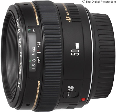 Canon EF 50mm f1.4-1