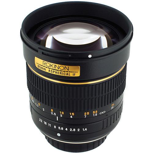 Rokinon 85mm f1.4